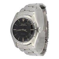 Rolex Ref.6107 Balck gilt underline dial