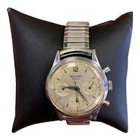 Vintage Gigandet Wakmann Incabloc Chronograph Stretch Band Watch