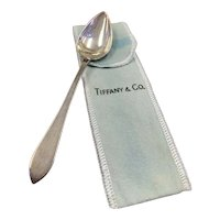 Tiffany & Co Faneuil 925 Sterling Silver Fruit Citrus Spoon