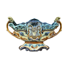 Majolica Porcelain & Pottery