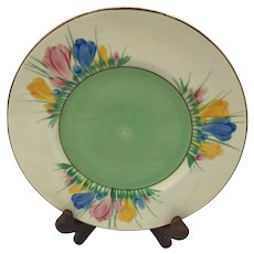 Clarice Cliff Spring Crocus Side Plate