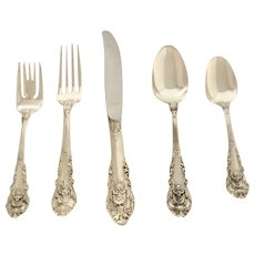 Sir Christopher Pattern 1936  Wallace Sterling Silver Flatware - No Monograms