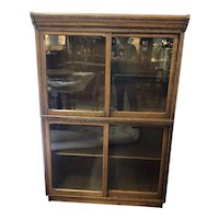 Antique Oak (2) Stack Barrister Bookcase by Danner Furniture Company