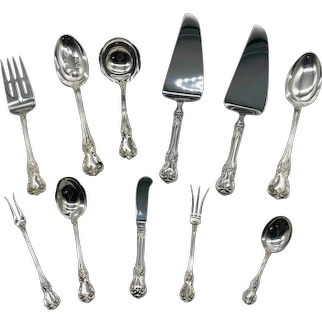 Old Master Sterling Silver Serving Pieces by Towle (total of 11 pieces in lot)