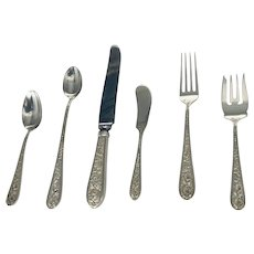 Stieff  Corsage Sterling Silver Flatware by Kirk Stieff Company of Baltimore, Maryland