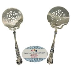 """Gorham Buttercup Sterling Silver Serving Pieces – (2) Two - 7 5/8"""" Tomato Servers"""