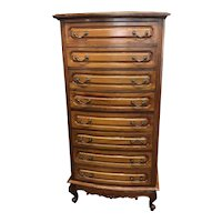 Solid Mahogany (8) Drawer Lingerie Chest