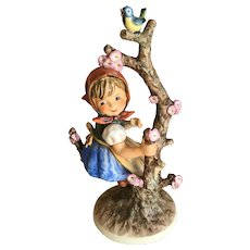Hummel Goebel Porcelain Apple Tree Girl 141/V 10.25 in