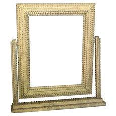 Tramp Art Swivel Frame