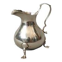 Antique silver cream jug, creamer
