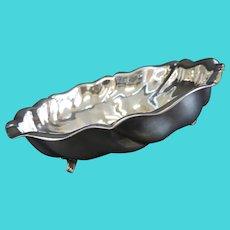 Antique Art Nouveau Silver Plated BonBon Dish c. 1890's
