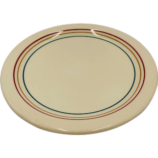 Shal O Rim by IROQUOIS ware set of 4 salad plates