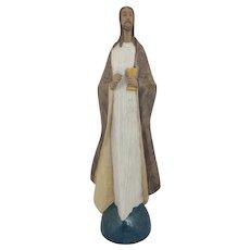 Lladro Large Figurine 2366 Bread of Life Jesus Gres Stoneware