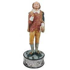 Royal Doulton Figurine William Shakespeare HN5129 - Boxed & CoA