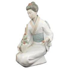 Lladro NAO Figurine Geisha Lady Model 1276