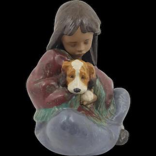 Lladro Gress Figurine Loyal Companions Model 2391