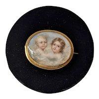 Doyle Miniature Memorial Brooch