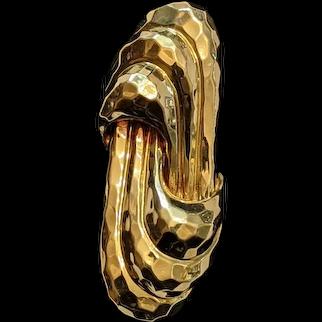 Dunay 18kt Yellow Gold Brooch