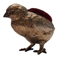 Gorham Sterling Silver Chick Pin Cushion