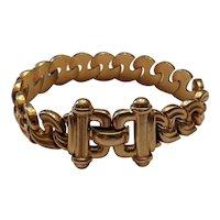 Vintage 14k Yellow Gold Italian Bracelet