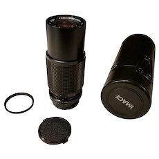 Image 80-200mm 1:4.5 zoom lens for Nikon Manual Series cameras Non AI