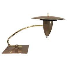 A Wonderful M.G. Wheeler 1950s Sightlight Desk Lamp