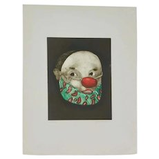 Two Aquatint Limited Edition Etchings by Saint Clair Cemin.