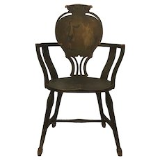 Late 19th Century Antique F. H. Conant's Sons Arm Chair