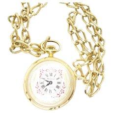Vintage Vendome France 17 Jewels  Pocket Watch .