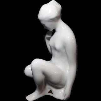 Beautiful Large Royal Dux Nude Figure