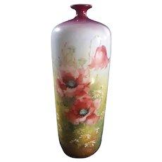 Beautiful  ROYAL BONN Hand Painted  Bottle/Vase  c.1800's
