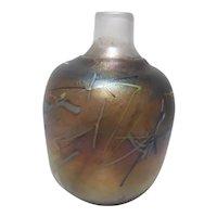 Nice  Kosta Boda Art Glass Vase BY Coll B. Vallien.....
