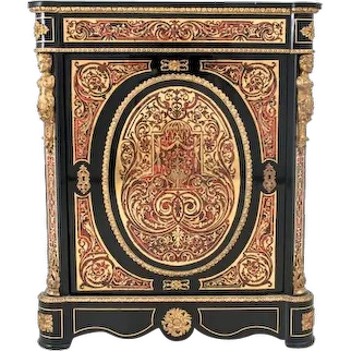 Boulle cabinet from around 1860