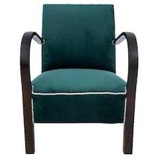 Art Deco armchair, Poland, 1940s