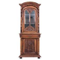 Renaissance corner display from around 1870.