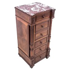 Chest of drawers - bedside table, France, circa 1910.