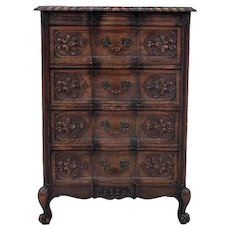 Antique chest of drawers, Western Europe, circa 1910.
