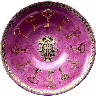 Japan Toyo vintage hand painted porcelain bowl