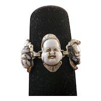 Seven Lucky Gods of Fortune Bracelet