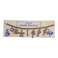 Vintage Fiesta Southwest Charm bracelet