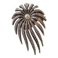 Vintage Halley's Comet brooch from W. Germany