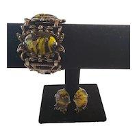 Lucite Athropod Bracelet