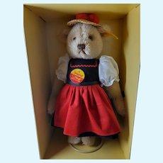 Margarete Steiff Giengen-brenz genuine mohair teddy bear