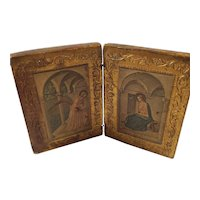 The Annunciation, Fra Angelico, on wood