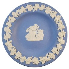 Wedgwood Blue Jasperware Trinket dish