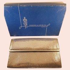 Whiting and Davis handbag with original box