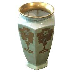 B & C Limoges Signed Vase