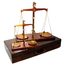 Antique British Trading Standards Scales, Wiltshire County, Super History!