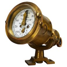 British Admiralty Ships Log Distance Gauge, cased, Walker and Sons, circa 1960