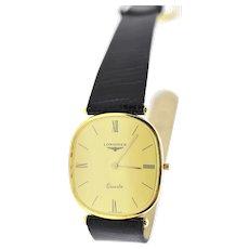 Longines 18k Quartz Watch. ULTRA THIN wristwatch